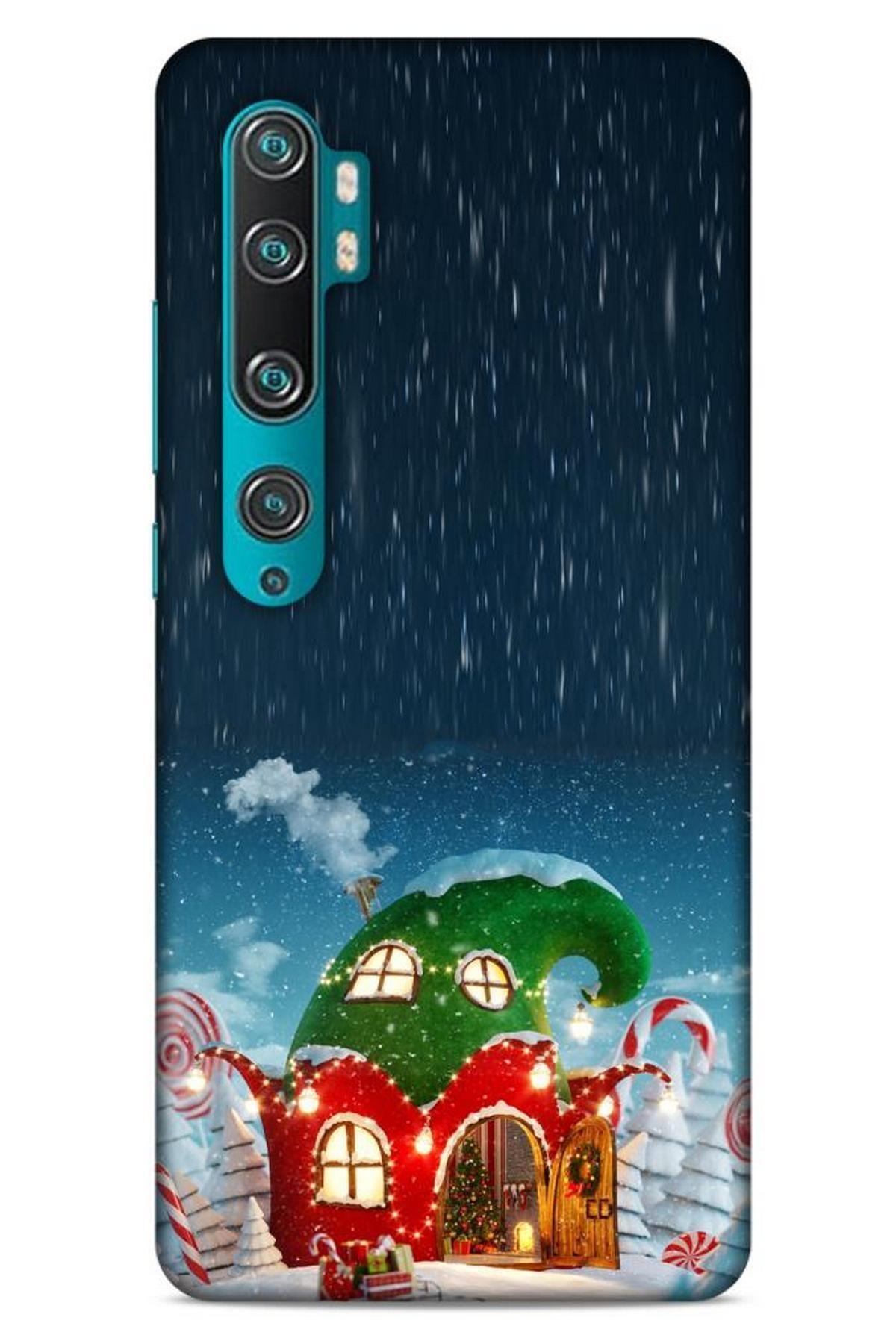 Lopard Xiaomi Mi Note 10 Pro Kılıf Snowix (7) Telefon Kılıfı Koyu Yeşil 1