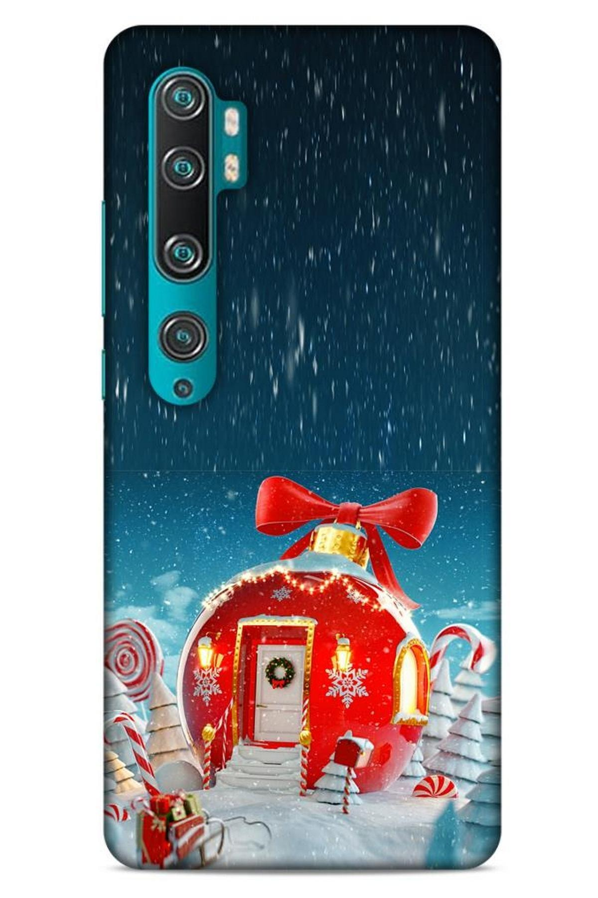 Lopard Xiaomi Mi Note 10 Pro Kılıf Snowix (9) Kılıf Kırmızı 1