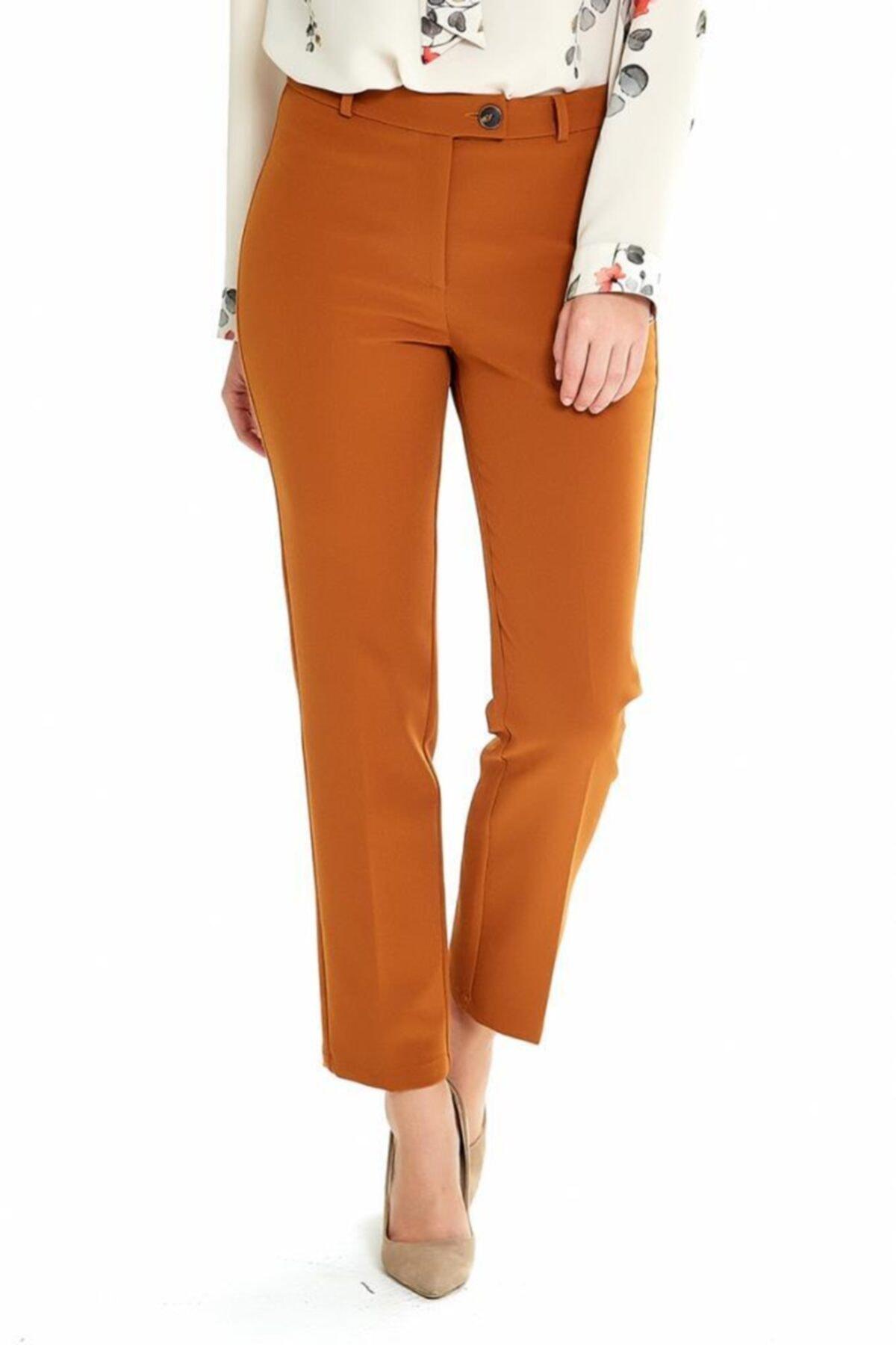 İKİLER Düğmeli Relax Fit Pantolon 1