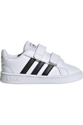 adidas GRAND COURT I Beyaz Unisex Çocuk Sneaker Ayakkabı 100481928