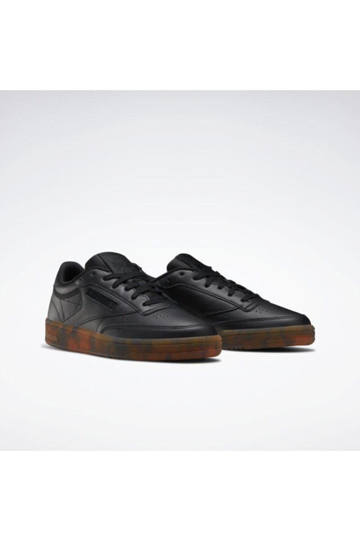 Reebok Eh1511 Club C 85 Kadın Günlük Siyah Spor Ayakkabı 1
