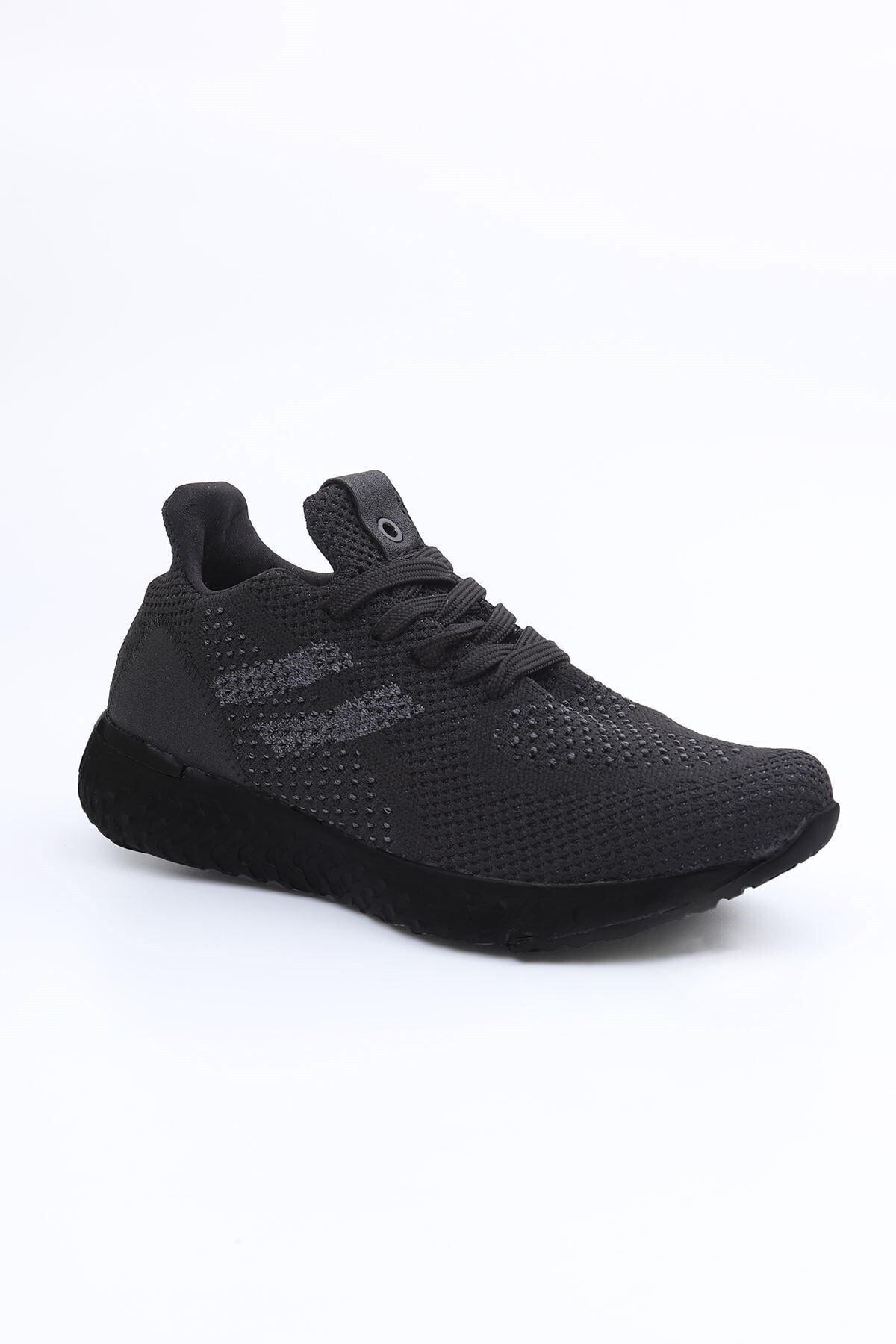 LETOON Unisex Siyah Günlük Ayakkabı 4850 2