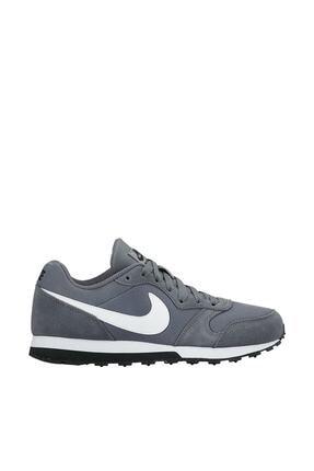 Nike Kids Kadın Gri Spor Ayakkabısı - Md Runner 2 - 807316-002
