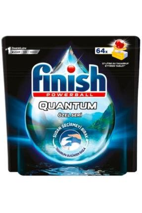 Finish Quantum Quantum Özel Seri Bulaşık Makinası Deterjanı Limonlu 64 Tablet