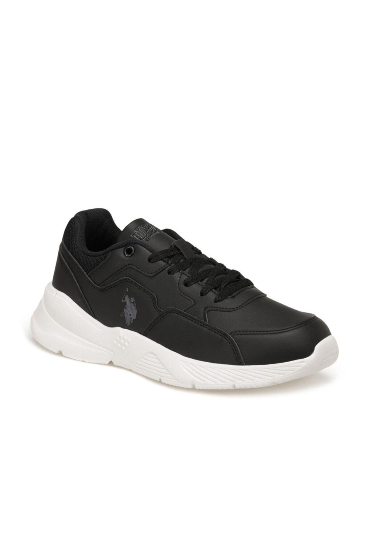 U.S. Polo Assn. FELIX Siyah Erkek Sneaker Ayakkabı 100536523 1