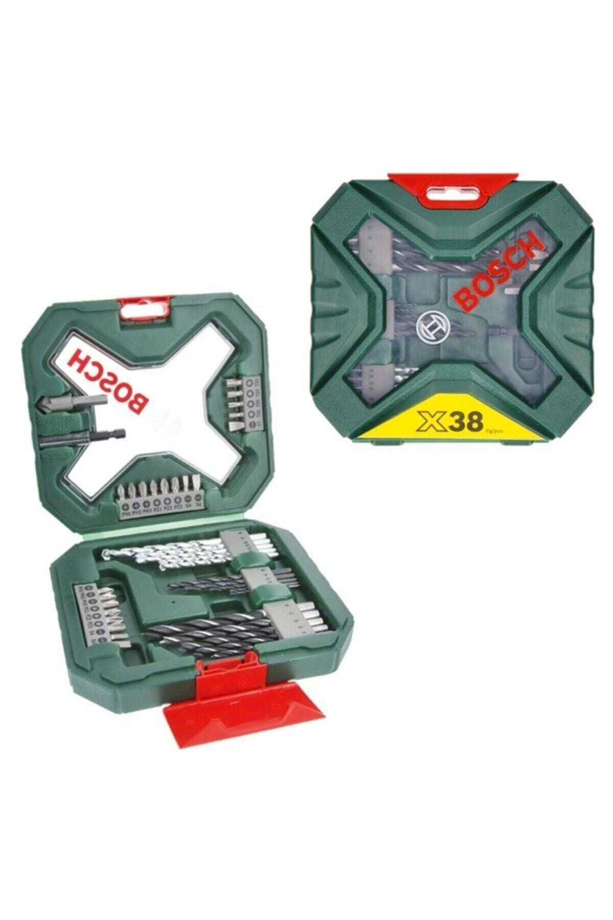 Bosch X-line 38 Parça Karışık Aksesuar Seti - 2607011432 1