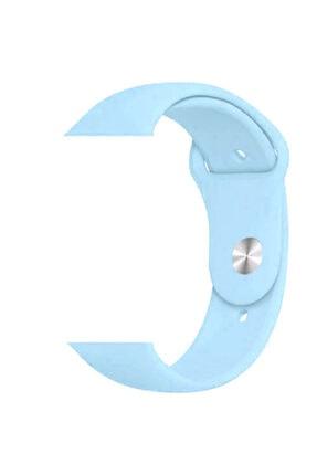 zore Watch 1 2 3 4 5 Serisi Uyumlu 42 mm Kordon Spor Silikon Mat Renkli Kayış