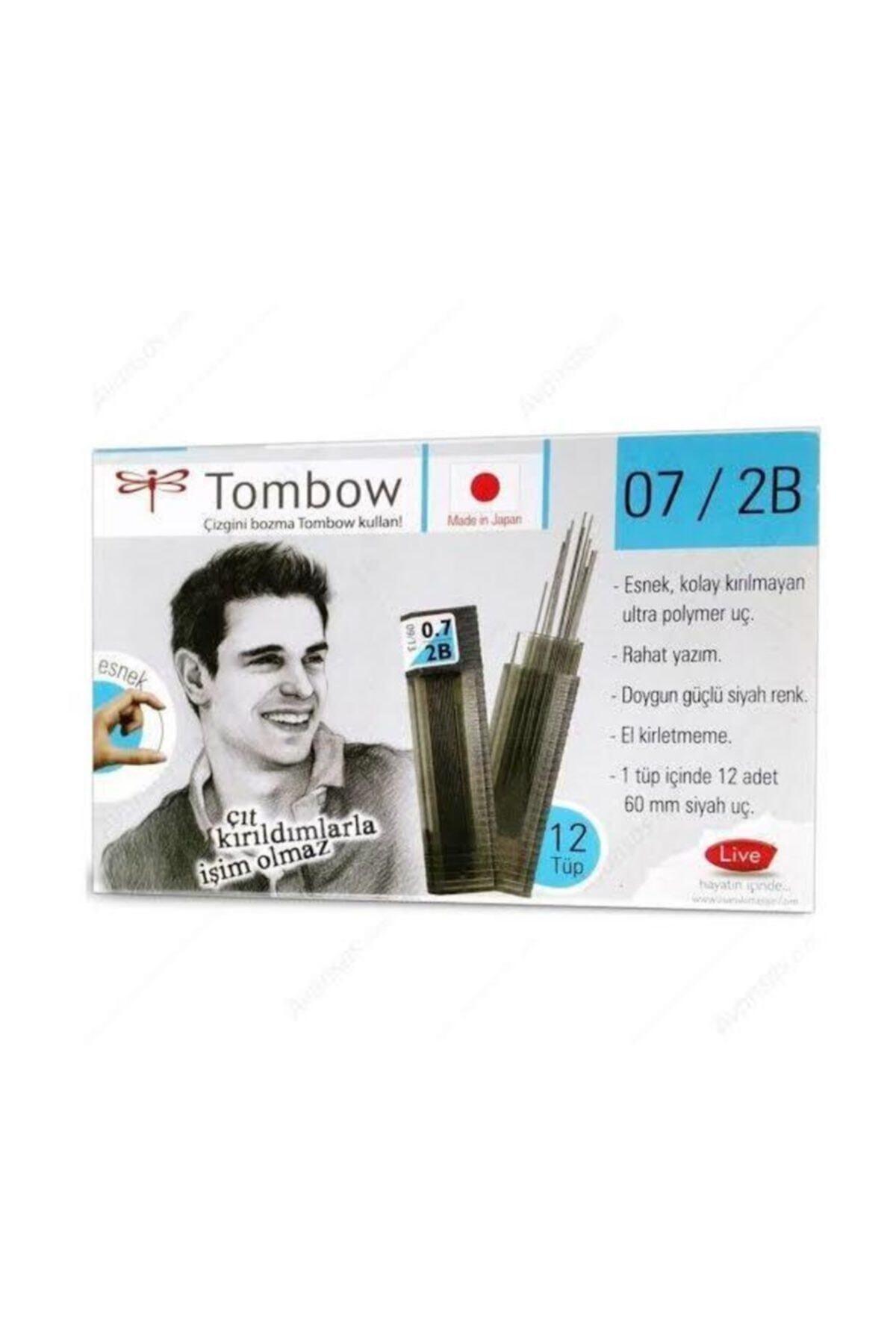 Tombow  0.7 Kurşun Kalem Ucu 12 Li Tüp 1