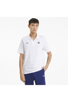 Puma Erkek Beyaz Polo Yaka Tişört