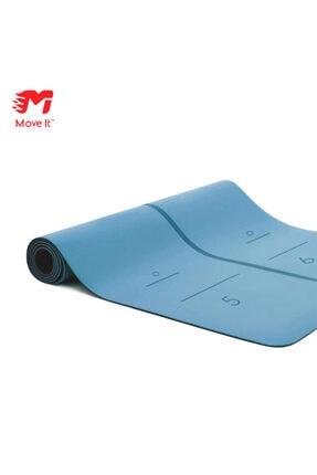 Move It %100 Doğal Kauçuk Yoga Matı - Mavi