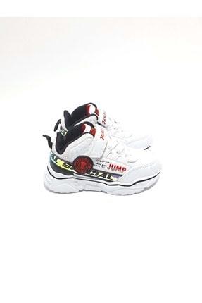 Jump Unisex Çocuk Beyaz Boğazlı Spor Ayakkabı 25792
