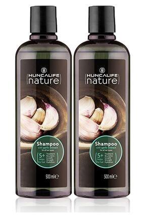 Huncalife Sarımsaklı Şampuan 500 ml 2 Li Set Sarımsaklı-2