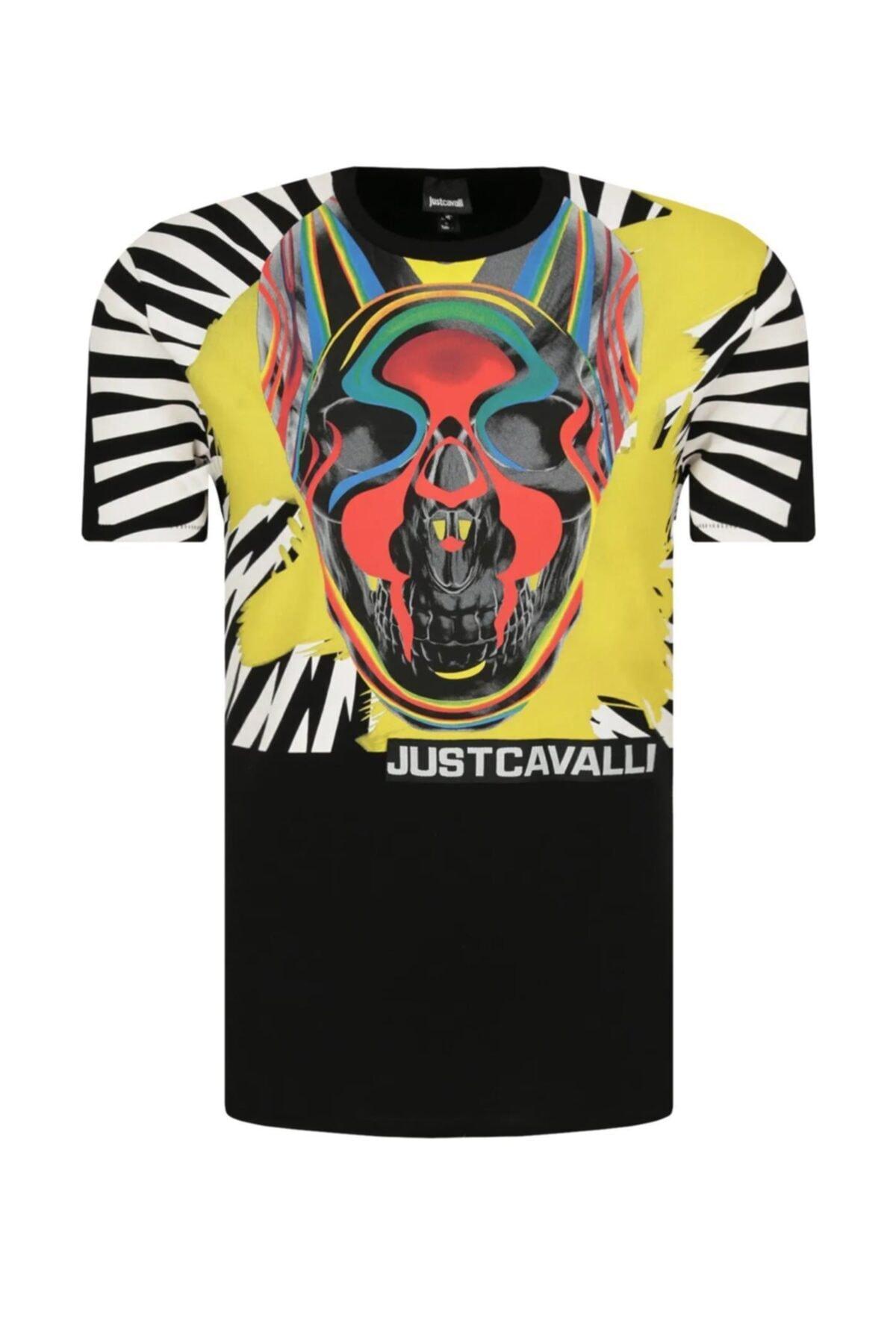 Just Cavalli Erkek Beyaz T-shirt S03gc0613 1