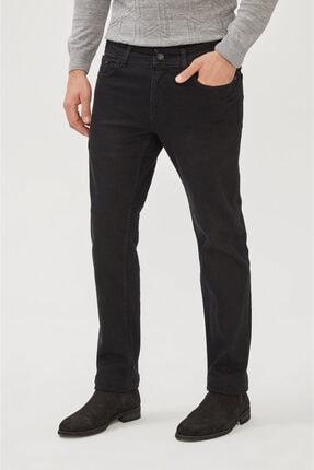 Avva Erkek Siyah Regular Fit Jean Pantolon E003514