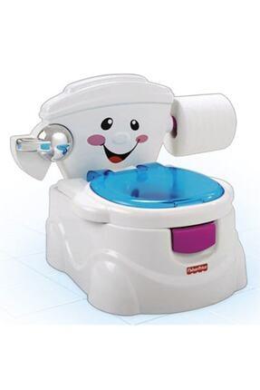FISHER PRICE Unisex Çocuk Beyaz Eğitici Eğlenceli Tuvalet
