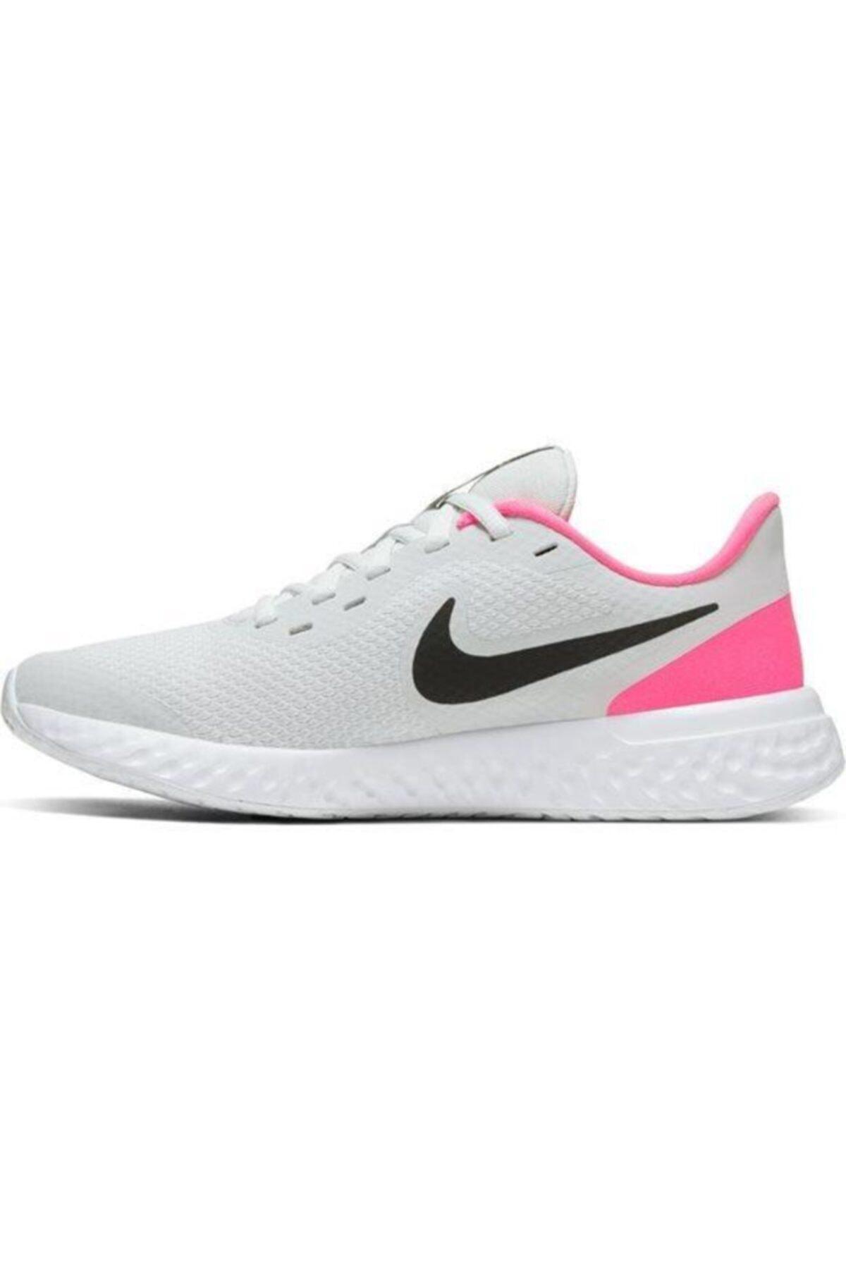 Nike Revolution 5 (Gs) Unisex Pembe Koşu Ayakkabısı Bq5671-010 1