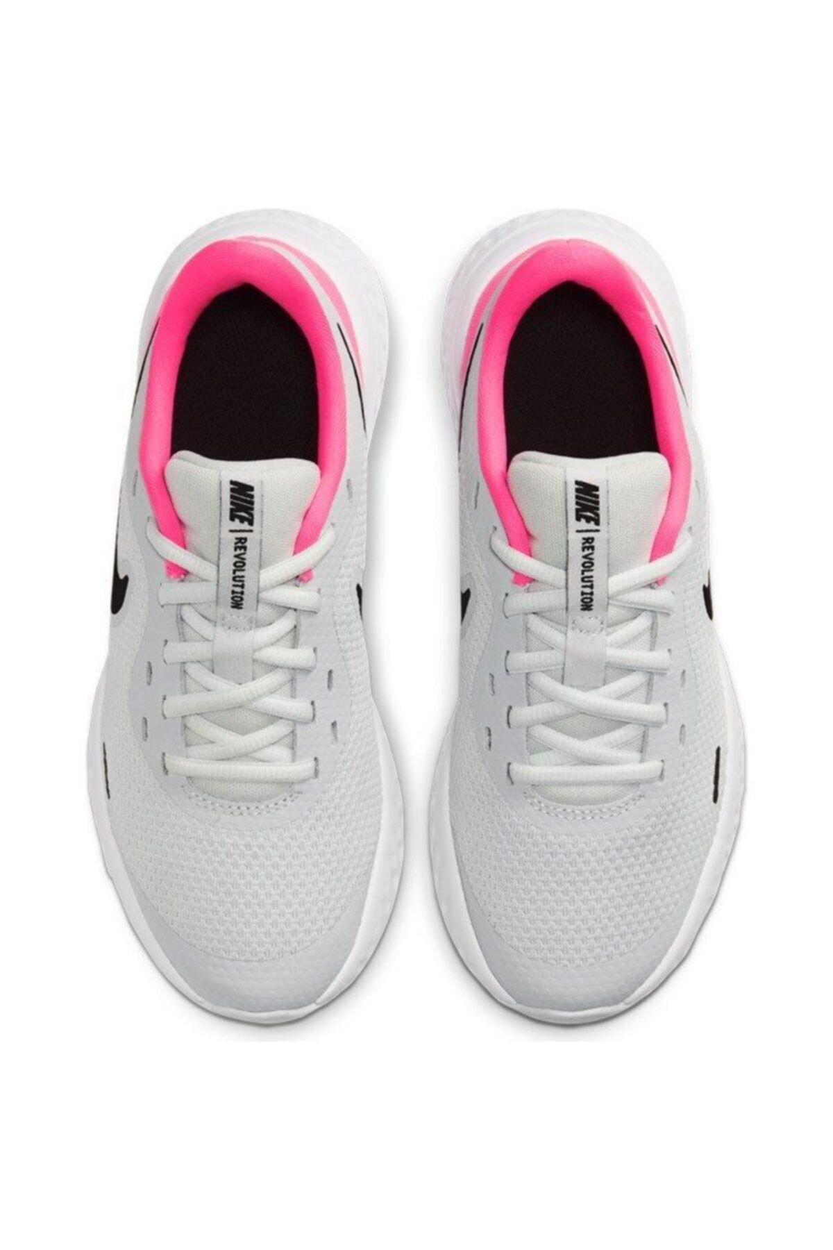 Nike Revolution 5 (Gs) Unisex Pembe Koşu Ayakkabısı Bq5671-010 2