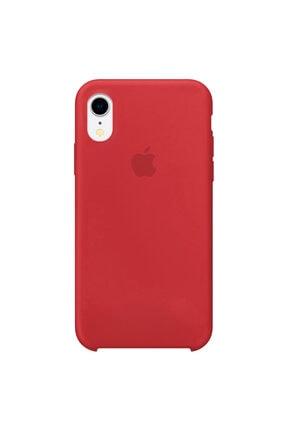 Enz Aksesuar Kırmızı Apple Iphone Xr Lansman Kılıf - Içi Süet