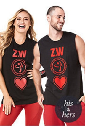 ZUMBA Made With Love Muscle Tank
