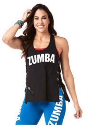 ZUMBA Keep Dancing Laced Up Tank