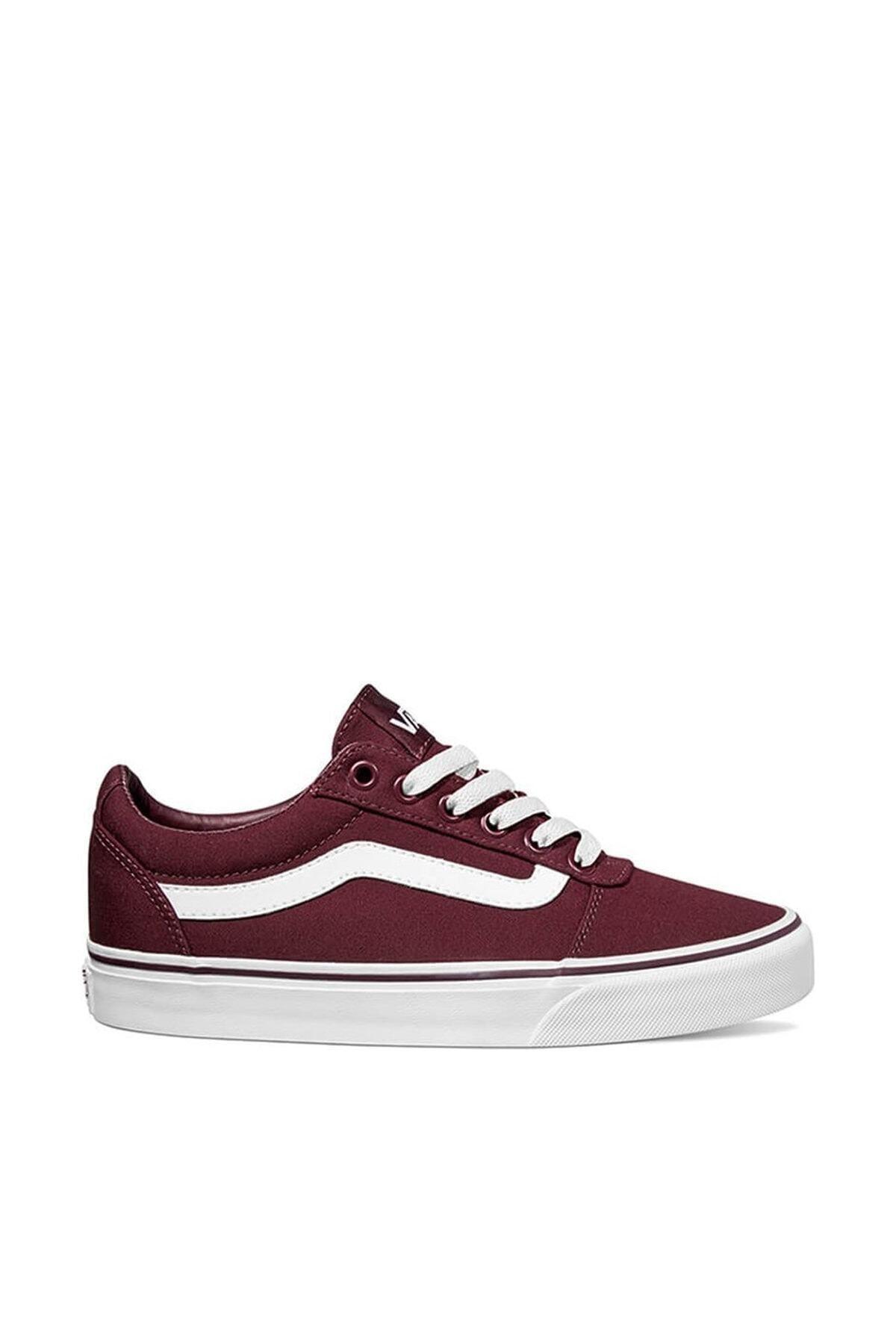 Vans WM WARD Bordo Kadın Sneaker Ayakkabı 100575289 1