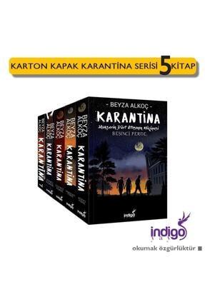 İndigo Yayınları Karantina Serisi 5 Kitap Set Ciltsiz Beyza Alkoç