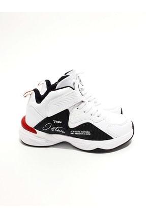Jump Unisex Çocuk Beyaz Basket Ayakkabı