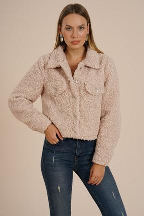 Markosin Kadın Bej Suni Ceket