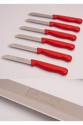 Solingen Meyve Ve Sebze Bıçağı Tırtıklı 6 Adet