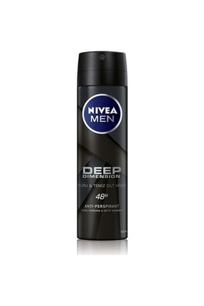 Nivea Nıvea Deep Dimension Deodorant Erkek 150 ml