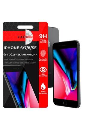 KaeMoon Iphone 6/ 7/ 8/ Se 2020 Için Ekran Koruyucu Hd Netlikte Temperli Ekran Koruyucu Cam (2'li )