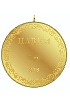 Harem Altın 1 gr 22 Ayar Harem Kulplu Külçe Altın