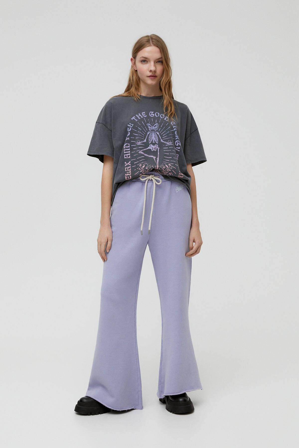 Pull & Bear Yoga Iskelet T-shirt 2
