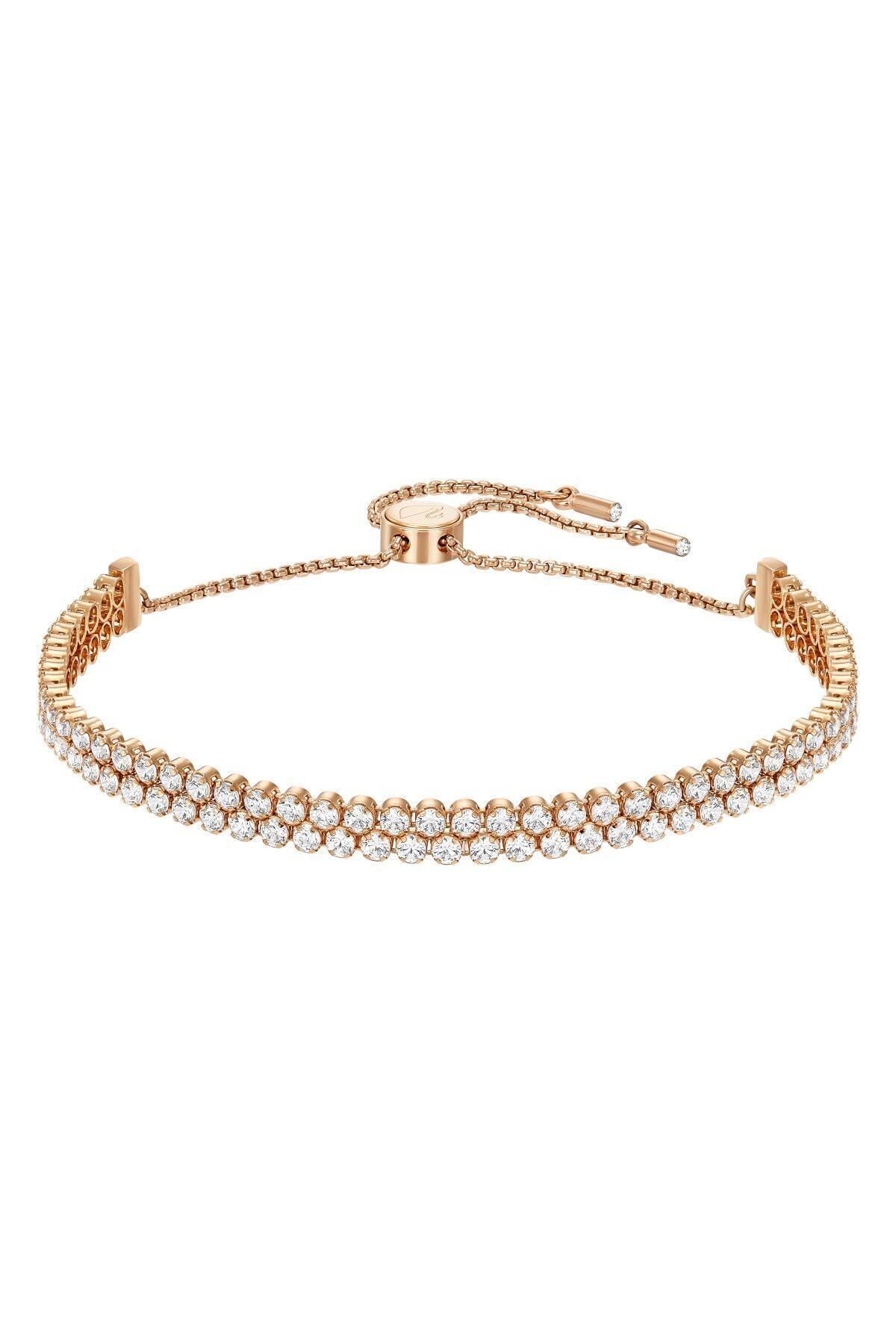 Swarovski Kadın Bilezik Subtle:bracelet Db Czwh/ros M 5224182 1