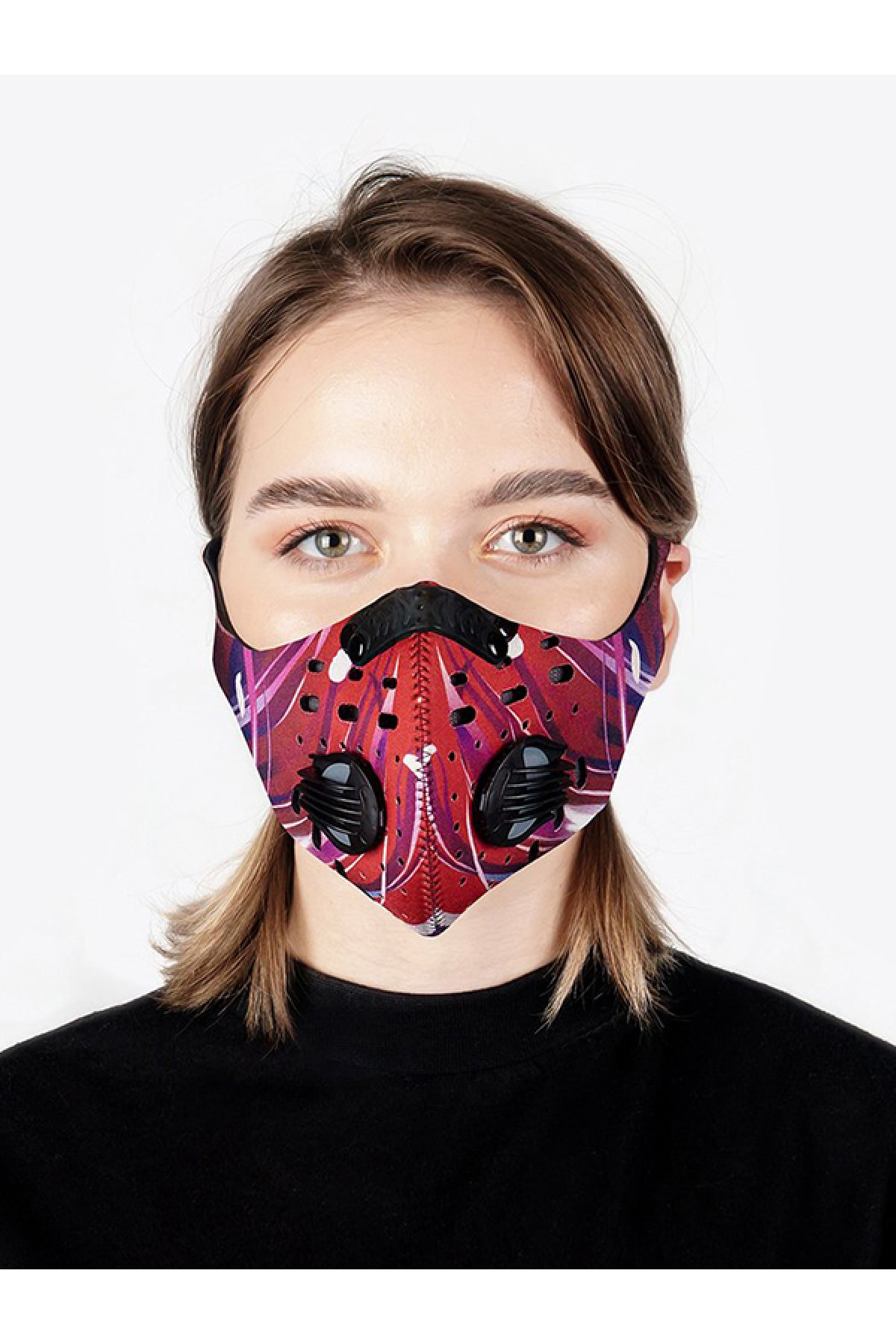 CHUM Kadın Lightspeed Aktif Karbon Filtreli Outdoor Maske 2