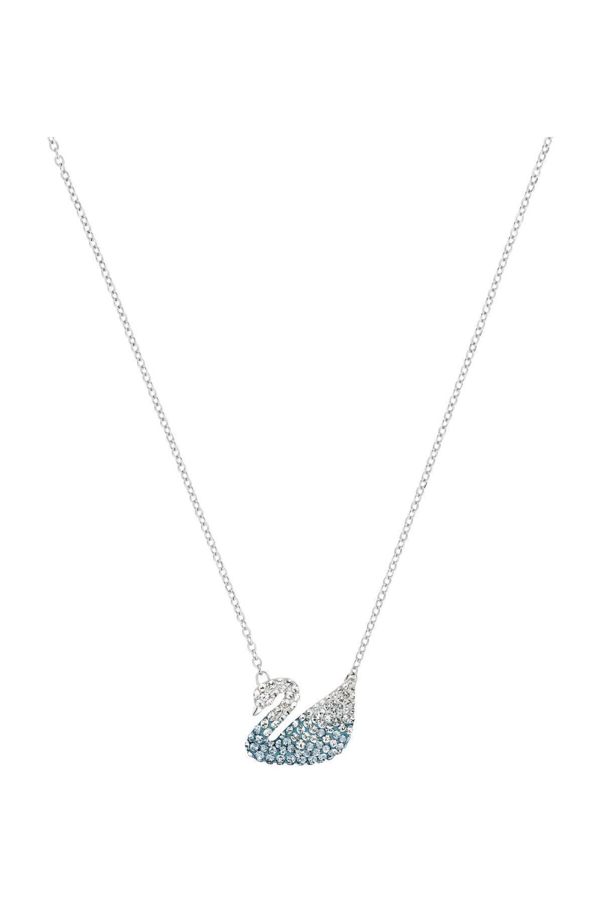 Swarovski Kolye İconic Swan:Pendant Lmul/Rhs Blue 5512095 1