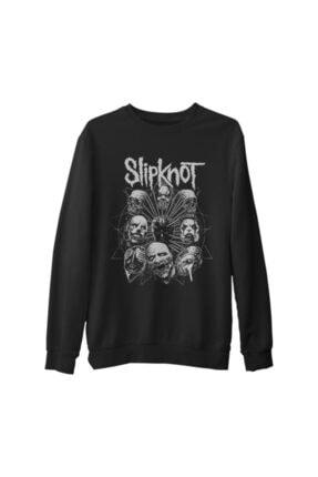 Lord T-Shirt Unisex Siyah Kalın Sweatshirt