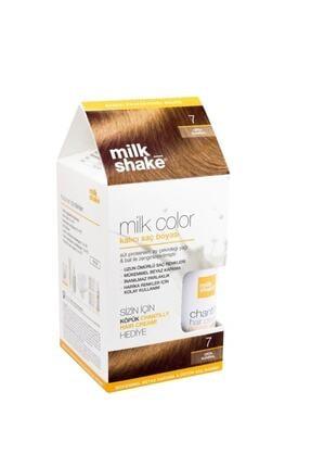 Milkshake Orta Kumral 07 Saç Köpüğü Saç Boyası 8681127022025