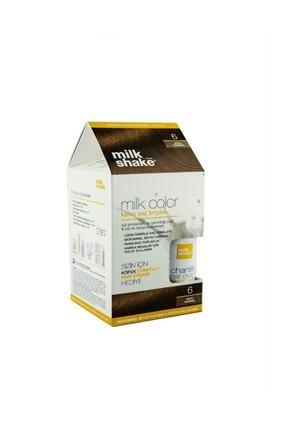 Milkshake Milk Shake Milk Color Kalıcı Saç Boyası 6 Koyu Kumral