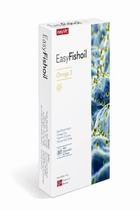 Easy Fishoil Easyfishoil Omega 3 Yetişkin 30 Çiğnenebilir Jel Form
