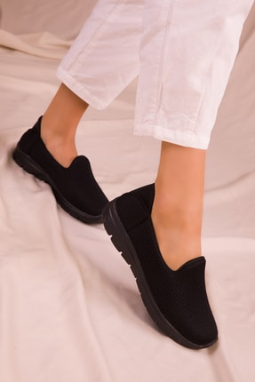 SOHO Siyah-Siyah Kadın Sneaker 14825