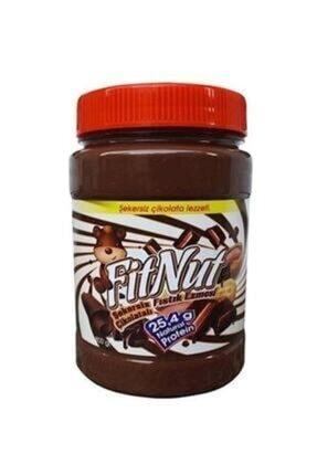 FitNut Fıstık Ezmesi Şekersiz Çikolatalı 800 Gr