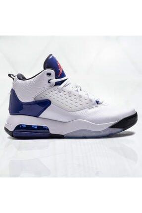 Nike Jordan Maxin 200 White/ Track Red-deep Royal Blue-black Basketbol Ayakkabısı