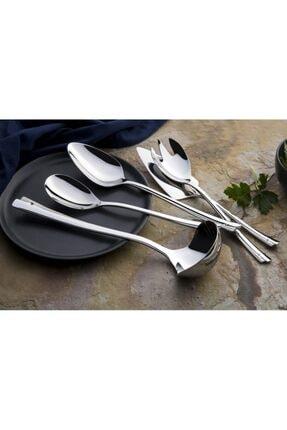 Emsan Accura 5 Parça Servis Seti Paslanmaz Çelik Börek Makası Hediyeli