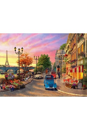 Anatolian Puzzle Anatolıan Puzzle 1000 Parça - Paris'te Akşamüstü 1004