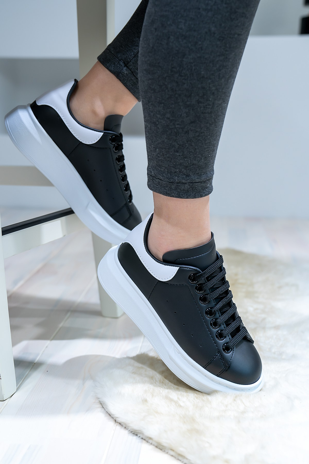 Blyss Kalın Taban Unisex Spor Ayakkabı 1