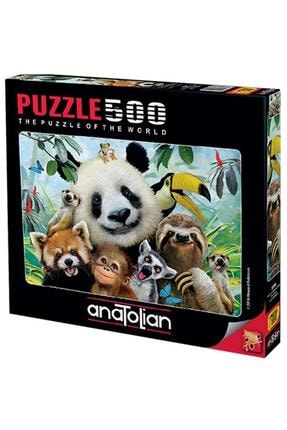 Anatolian Puzzle 3596 Hayvanat Bahçesi Selfisi Puzzle / Anatolian