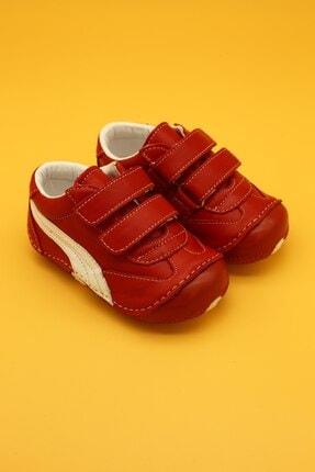 Db Kids Deri Ortopedik Ilk Adım Bebek Ayakkabısı Kırmızı B108