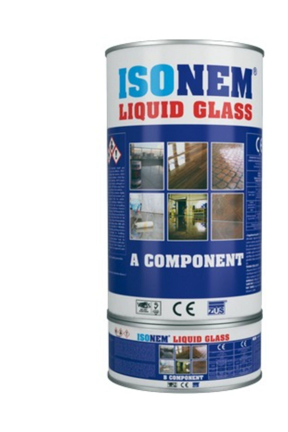 Isonem Lıquıd Glass Sıvı Cam – Şeffaf Ve Parlak Su Izolasyonu 2 Kg 1