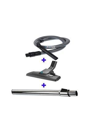 Boyser Servis Philips Fc 9323 Powerpro Compact Hortum Emici Başlık Teleskopik Boru 3 Lü Hortum Seti